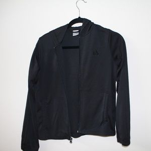 Adidas Black Zip up hoodie size medium